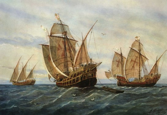 colombus-ships